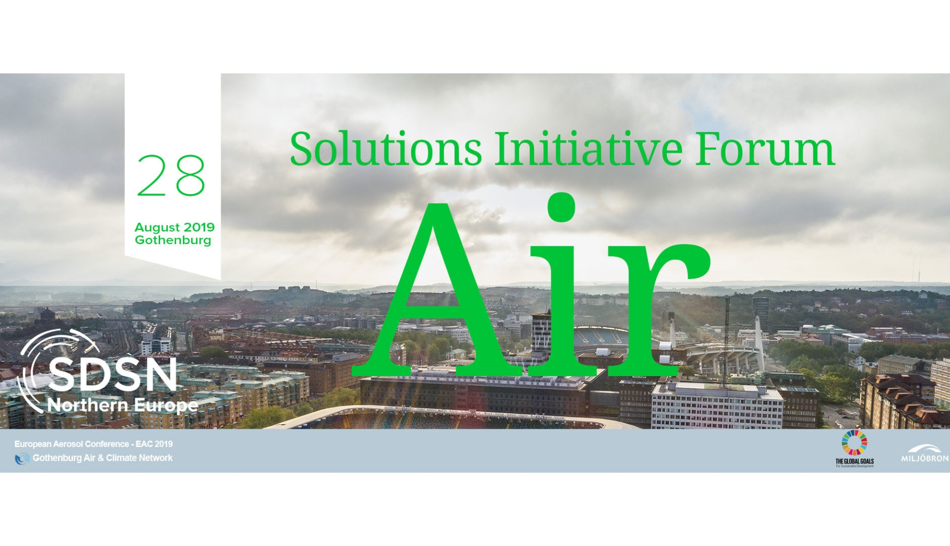 SDSN Northern Europe's Solution Initiative Forum (SIF) AIR