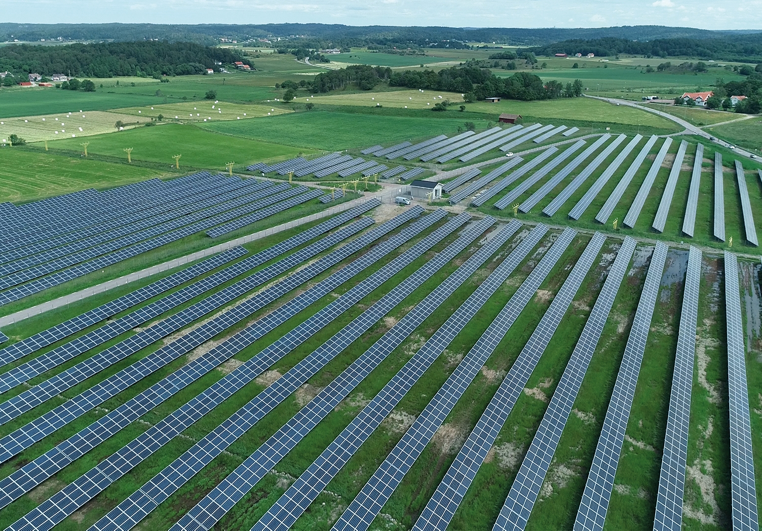 Nya Solevi solar farm one year on – the story so far